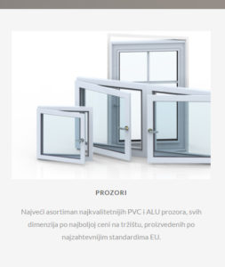PVC prozori Sabac, PVC prozori Beograd, PVC Stolarija cene