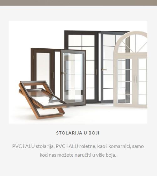 PVC Stolarija Siegeln - Stolarija u boji - PVC prozori i PVC vrata