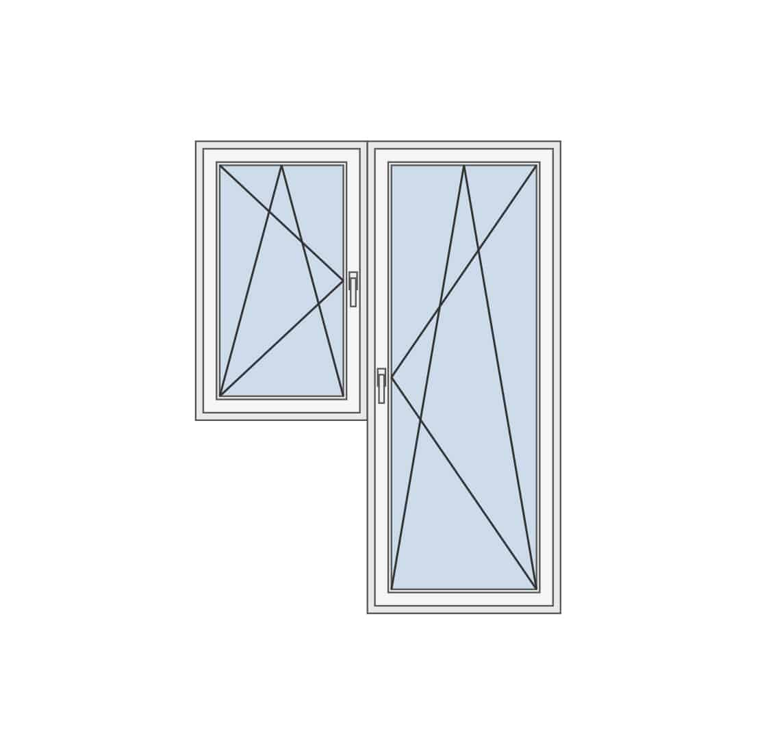 Balkonska vrata i prozor