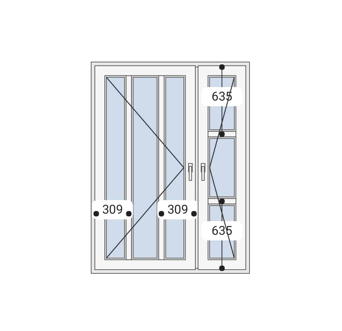 Dvokrilna vrata